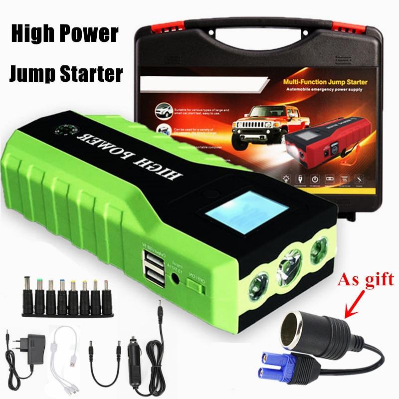Starthilfe Jkcover 26000 Mah Beste Auto Starthilfe High Power Tragbare Auto Ladegerät Multi-funktion Starten Jumper Notfall Auto Batterie Booster