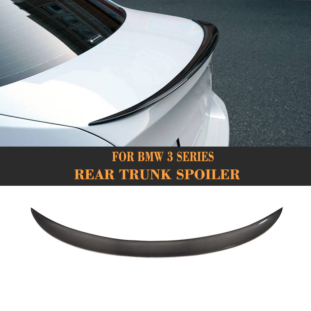 3 Series Carbon fiber Rear trunk wing Spoiler for BMW E90 E92 E93 F30 F80 M3 2005 2017 Convertible M Sport 325i 335i P Style