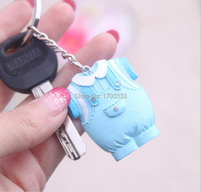 180pcs Baby Shower Favors And Gift Cute Baby Girl Dress Design Pink Key  Chain Infant Baptism