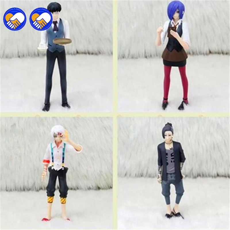 A toy A dream Tokyo Ghoul Uta Pvc Figure Japanese anime Set New In Japan Animation Toy Gifts Model 4.95' 15cm animation character angel table decoration model toy