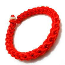 1 Pcs Sell Men and Women Charm Bracelets Safeness Red String Bracelet Peace Buckle JadeRope Bracelet Lucky for Hand Catenary(China)