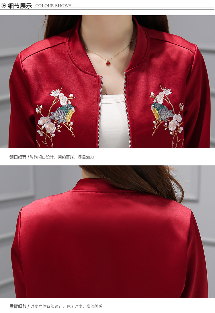 HTB1lqh3QVXXXXXQXVXXq6xXFXXXy - Blossom Floral Rose Embroidered Jacket Fashion Euro