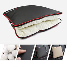 Multifunction Car Blankets Massage Seat Cover Lumbar Cushion Pillow The Waist Lumbar Supports Blanket For Office BMW HONDA VW