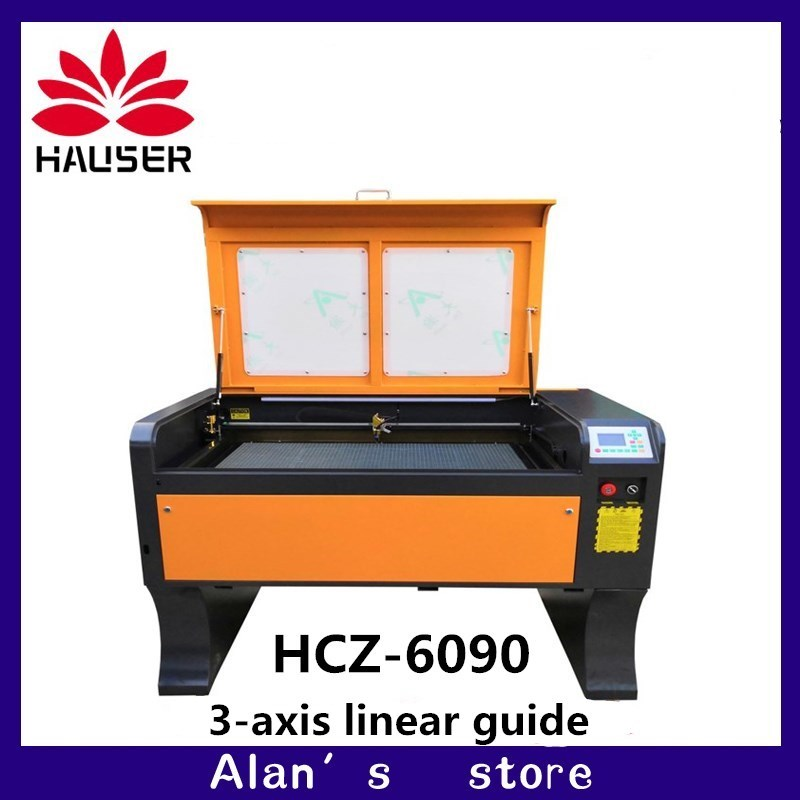 3-axis Linear Guide Co2 Laser Engraver 100w 6090 Laser Engraving Machine 220v/110v Laser Cutter Machine CNC Engraving Machine
