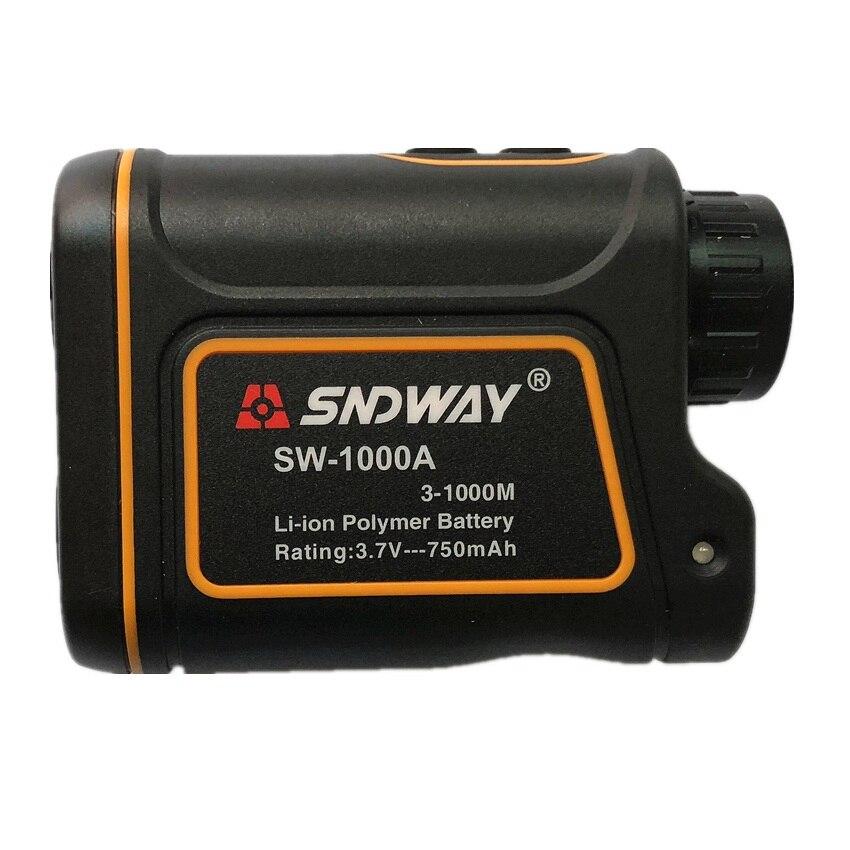SNDWAY SW-1000A 1000M Laser Range Finder Scope Meter Geschwindigkeit Vermesser Monokulare Entfernungsmesser 6X Abstand Outdoor Sports Monocular