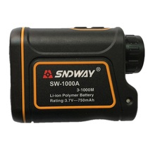 SNDWAY SW-1000A 1000M Laser Range Finder Scope Meter Speed Measurer Monocular Rangefinder 6X Distance Outdoor Sports Monocular дальномер gamo range finder 1000m lrf1000m