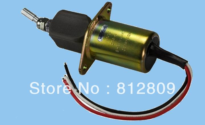 Shut down solenoid EHB4813-1 12v+DHL/FedEx cheap&fast shipping flame out solenoid 3930233 12v with cheap price
