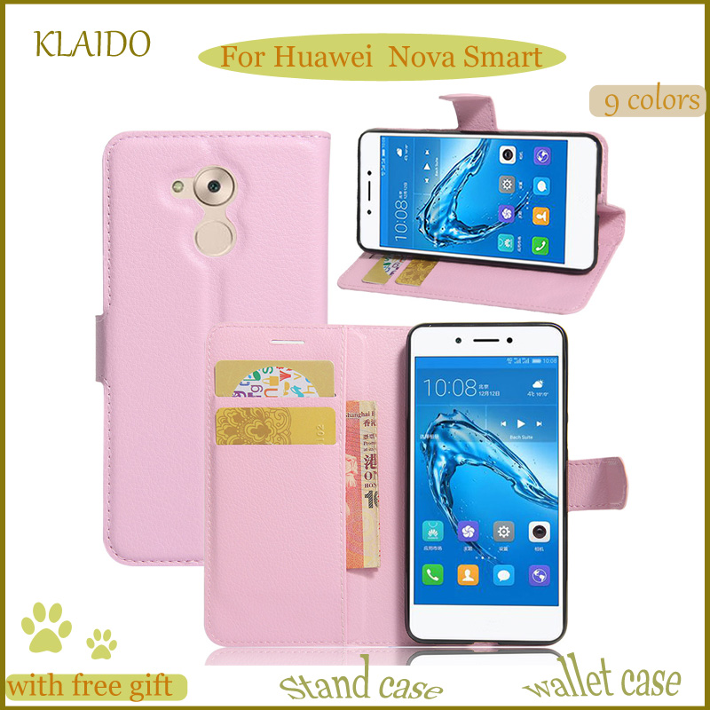 KLAIDO High Quality Luxury Wallet Leather Phone Case For Huawei Nova Smart Card Slot PU Case For Huawei Nova Smar Leather Case