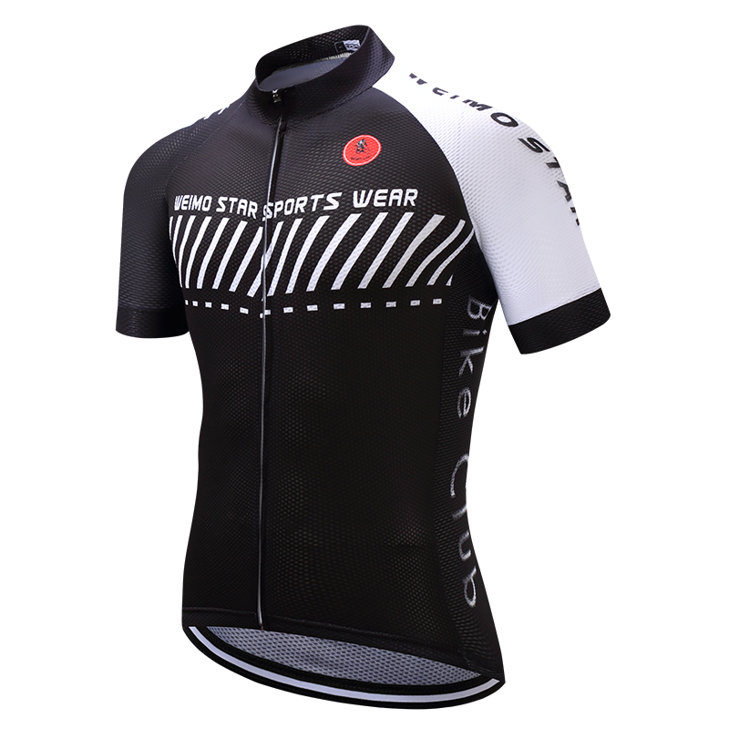 2019 Cycling Jersey Men's Bike Jersey Pro Mtb Shirts Team Maillot Ciclismo Top Bicycle Jersey Racing For Male Summer Black White Nourishing The Kidneys Relieving Rheumatism