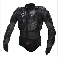 DUHAN Professional Motorcross Racing Full Body Armor Spine Chest Protective Jacket Motorcycle Riding Body Protection Gear