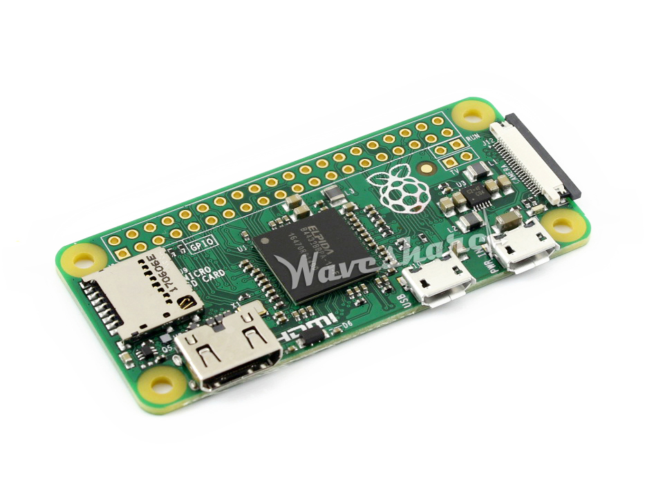mini PC Original Raspberry Pi Zero RPi Zero 1GHz CPU single-core processor 512MB RAM wit ...