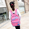 ENKNIGHT New female women canvas backpack preppy style school Lady girl student school Travel laptop bag mochila shoulders bag