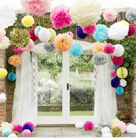 10pcs Set 8 Inch 20cm Tissue Paper Pom Poms Balls Tiffany Blue Wedding Decorations Royal Blue Wedding Decoration Flowers Wedding Decoration Flower Decorative Flowerspom Pom Balls Aliexpress