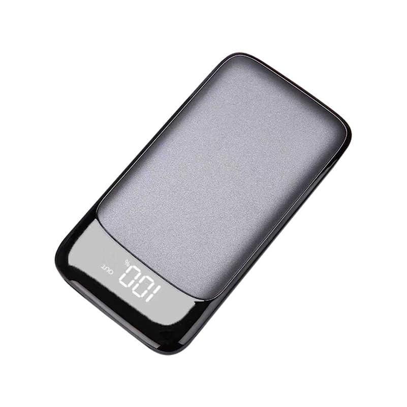حار 30000mah قوة البنك بطارية خارجية PoverBank LCD تجدد Powerbank المحمولة الهاتف المحمول شاحن هواتف xiaomi mi iphone7 8x18650