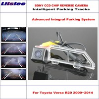 Liislee Car Rear Back Up Camera For Toyota Verso R20 Toyota SportsVan 2009~2014 Rearview Parking Dynamic Guidance Tragectory
