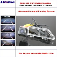 Liislee Car Rear Back Up Camera For Toyota Verso R20 Toyota SportsVan 2009~2014 Rearview Parking Dynamic Guidance Tragectory liislee mirror monitor easy diy back up parking system for kia sorento 2009 2018 3 in1 special camera wireless receiver