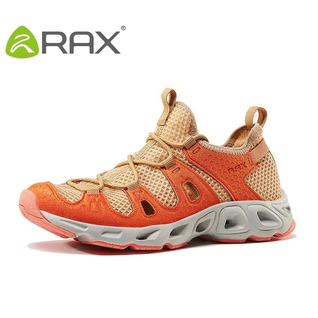Rax Sports Shoes Women Men Aqua Shoes Super Breathable Quick Drying Male Fishing Shoes Wear-Resistant Female Sneakers B2810