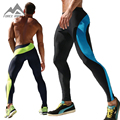 Men's Long Sexy Tight Pants Ankle Length Trousers Casual Elastic Slim Fitted Sweatpants Skinny Crossfit Pro Workout Pants AQ17