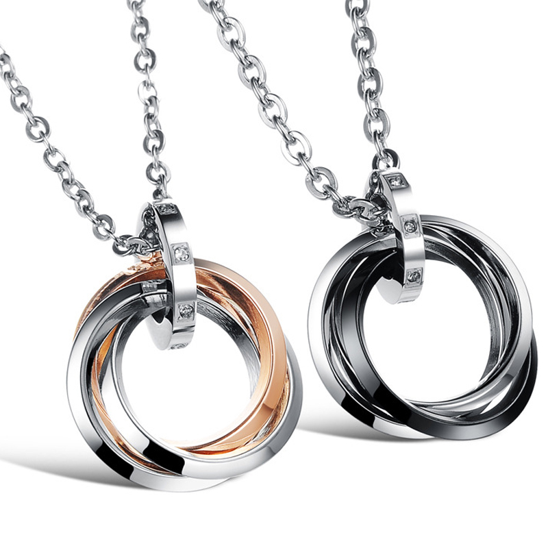 Peneede infinity ring pendant fidget necklace stainless steel mobius peneede infinity ring pendant fidget necklace stainless steel mobius rings necklace for menwomen autism adhd anti stress in magic cubes from toys hobbies aloadofball Choice Image