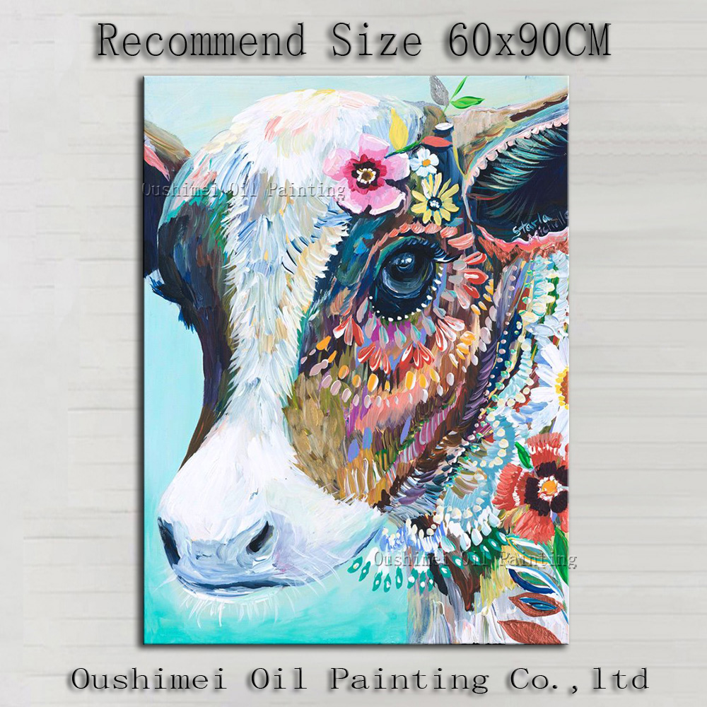 Skills Artist Handmade High Quality Abstract Animals Dairy