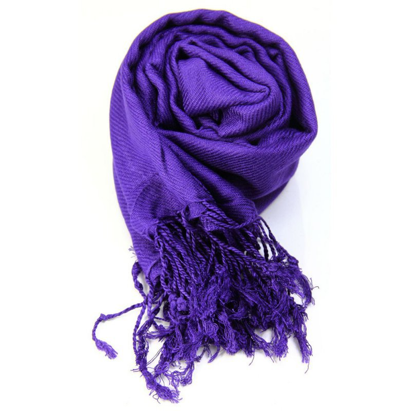 Autumn Winter Women Shawls Solid   Scarves   Cashmere   Scarves   Women Oversized Blanket   Scarf     Wrap   long Wool Tassel   Scarf