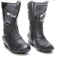 ARCX Motorcycle Long Boot men Leather Motorbike boot protector Motocross Racing Boots Protector Gear Motor motorcyclist Shoes
