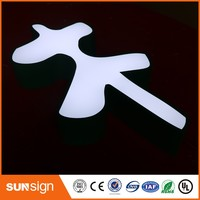 china electronic store LED advertising illuminated sign