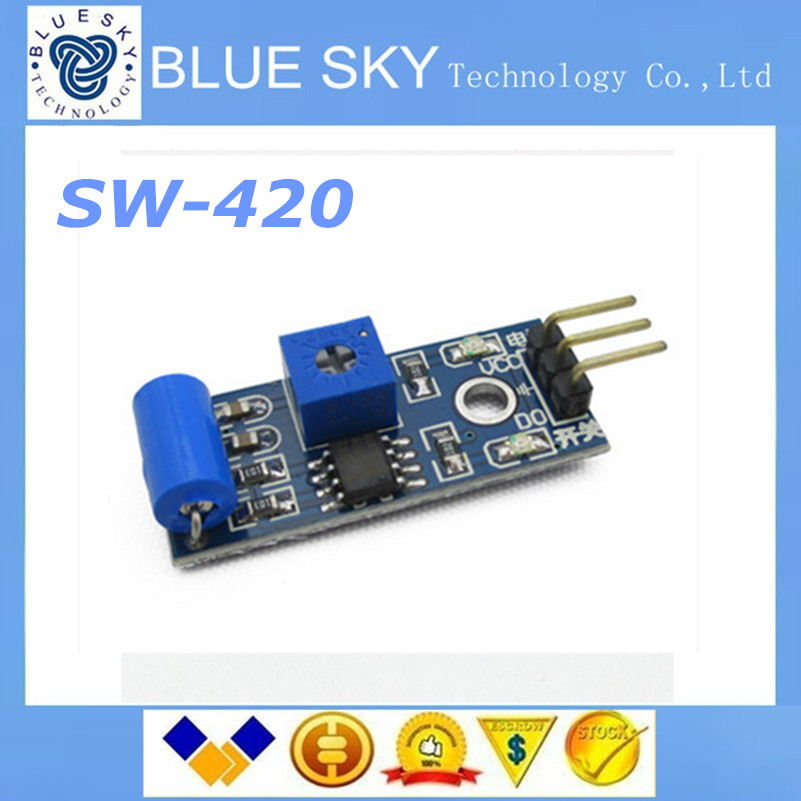 normally closed type <font><b>vibration</b></font> <font><b>sensor</b></font> <font><b>module</b></font> <font><b>Alarm</b></font> <font><b>sensor</b></font> <font><b>module</b></font> <font><b>Vibration</b></font> <font><b>switch</b></font> SW-420