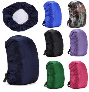Plecak kombinezon przeciwdeszczowy na 30L-55L wodoodporne tkaniny osłony przeciwdeszczowe podróże Camping piesze wycieczki odkryty torba na bagaż płaszcze przeciwdeszczowe tanie i dobre opinie SAFEBET Single-osoby przeciwdeszczowa Poncho 190 t nylon fabric Dorosłych Wspinaczka Odzież przeciwdeszczowa Uniwersalny