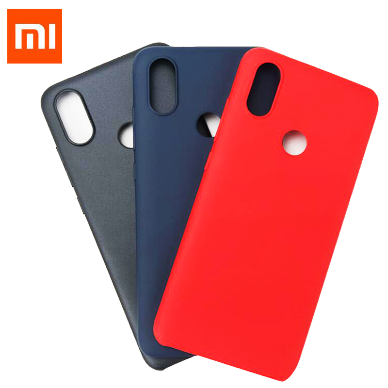"""Original Xiaomi Mi 6X A2 Case MI6X Luxury Back Cover A 2 4GB RAM 64GB Smart Phone 5.99"""" protect shell Xiaomi design-in Fitted Cases from Cellphones & Telecommunications"""