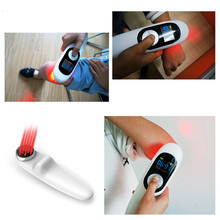 Handheld 808nm medical laser physiotherapy rehabilitation.
