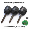 Remote Car Key 315MHz 433MHz for SUZUKI SWIFT IGNIS SX4 ALTO Aerio Jimny Vitara XL7 Keyless Entry Controller T002 T004