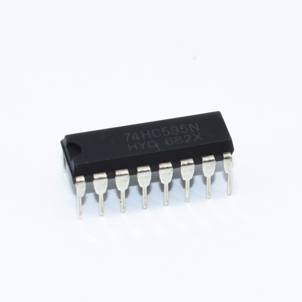 10PCS SN74HC595N DIP16 SN74HC595 DIP 74HC595N 74HC595 new IC