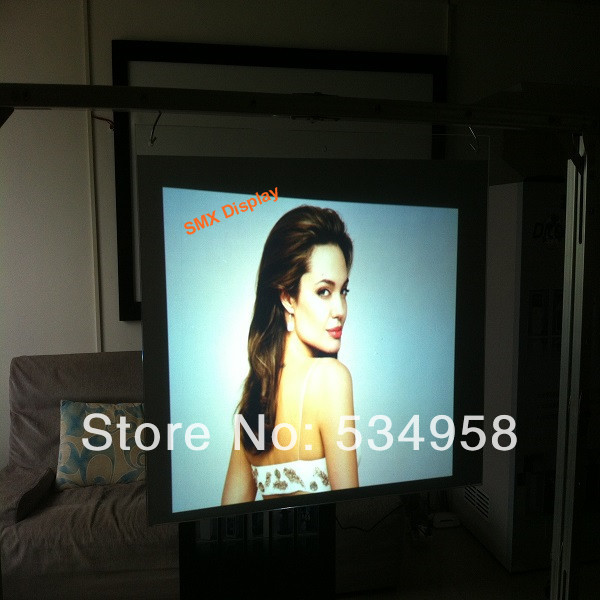 High Contrast Rear Projection Film/Natural Black Rear Projection Film/1.52x30 Meter the best Projection Film in China on sale 1 square meter dual white color rear adhesive projection screen film with the best quality