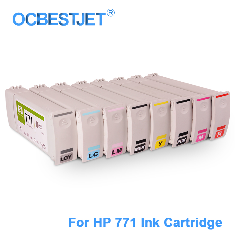 [Značka třetí strany] 8 ks / sada pro náhradní inkoustovou - Kancelářské elektroniky