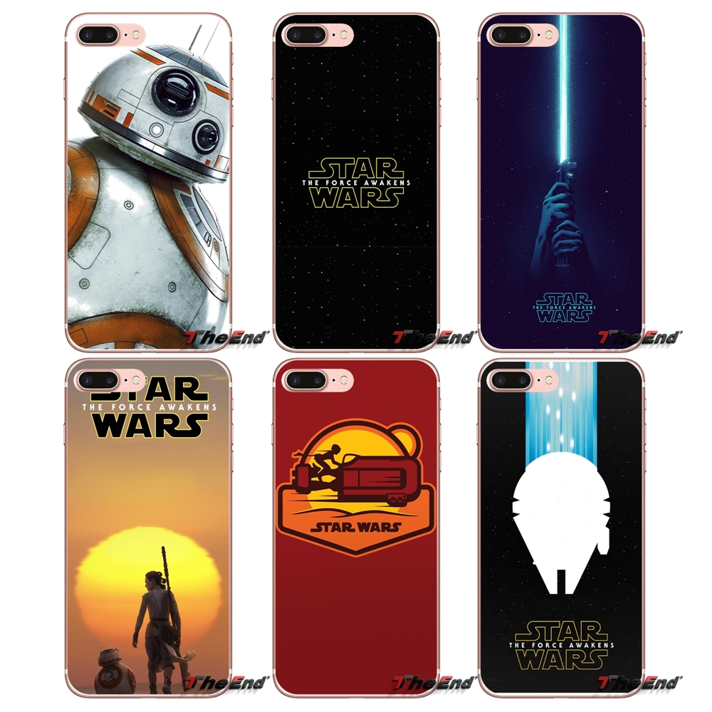 BB 8 R2 D2 Star Wars For Huawei Honor 7X V10 6C V9 6A Play 9 Mate 10 Pro Y7 Y5 P8 P10 Lite Plus GR5 2017 Accessories Shell Cover