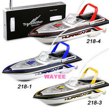 777-218 Remote Radio Control mini RC Boat Model, 4 Colors RC Micro Racing ship P2(China)