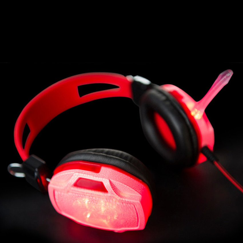 Soyto SY833MV Burst Pattern Ergonomic Designs Home Office Gaming Headphones Noise Cancelling Computer Laptop Headsets Hot Sale