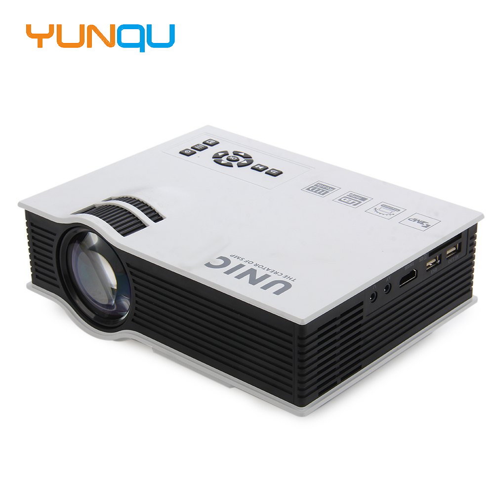 2016 original unic uc40 projector pico led home cinema for Usb projector reviews