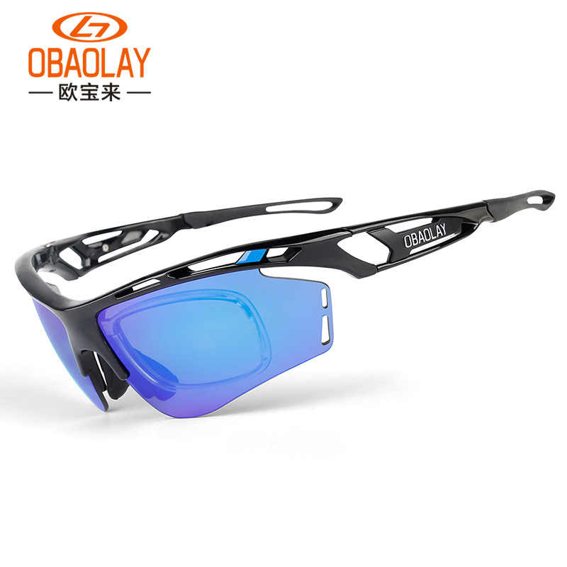 79f40788360d5 2019 OBAOLAY Polarized Cycling Sunglasse Sport Cycling Glasses Mens  Mountain Bike Goggles UV400 Cycling Eyewear Bicycle