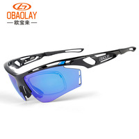2019 OBAOLAY Polarized Cycling Sunglasse Sport Cycling Glasses Mens Mountain Bike Goggles UV400 Cycling Eyewear Bicycle Glasses
