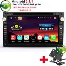 Quad Core Android 5.1.1 Car DVD GPS Radio For Old VW Transporter T4/T5 Bora Passat Mk5 Golf Mk4 Polo Jetta Peugeot 307 1998-2008