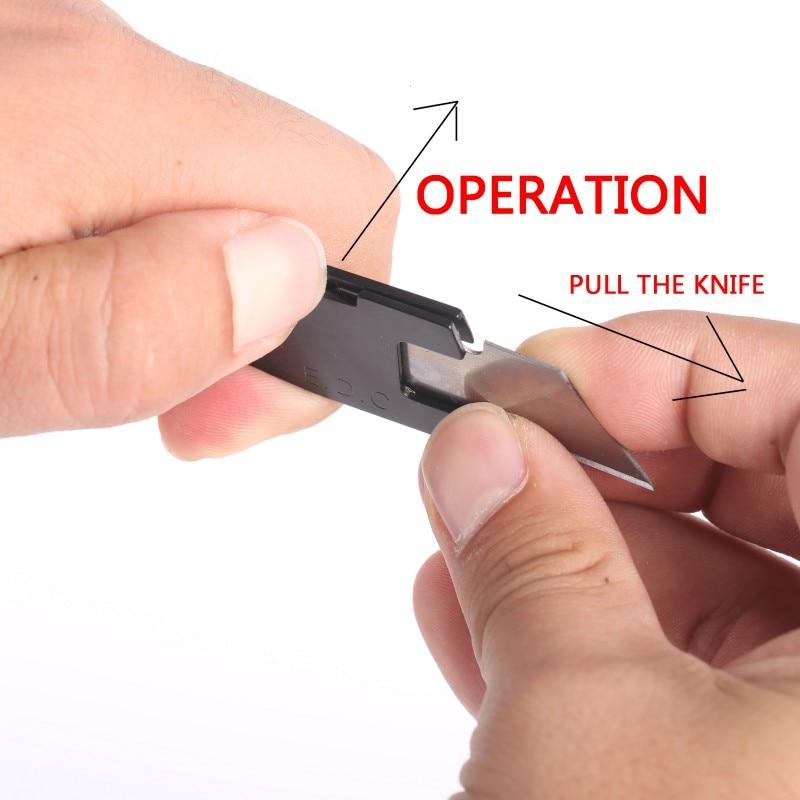 Multifunctional Knife Mini Keychain Multi Tool Key Pocket Letter Camp Outdoor Pare Peeler Peel Parcel Open