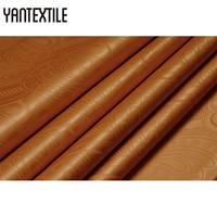 YANTEXTILE Dye Textile Bazin Riche Fabric Similar To Getzner Quality 10 Yards African Tissu Nigeria Jacquard Guinea Brocade