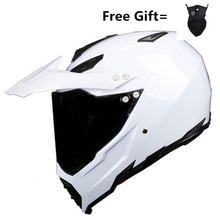 Hot sales off-road helmets downhill racing mountain full face helmet motorcycle moto cross casco casque capacete white