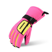 NANDN Children S Ski Gloves Snowboard Gloves Snowmobile Winter Skiing Riding Climbing Waterproof Snow Gloves For