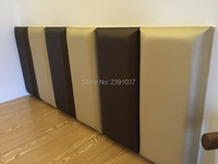 12pcs 50*30cm Custom Leather panel PU Leather Acoustic Panels Wall Panel panel acustico Choice Of Fabric Headboard, Feature Wall