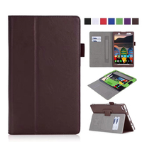 Tab4 8 PU Leather Case Cover Protective Stand Skin Wallet Cases For Lenovo TAB 4 8
