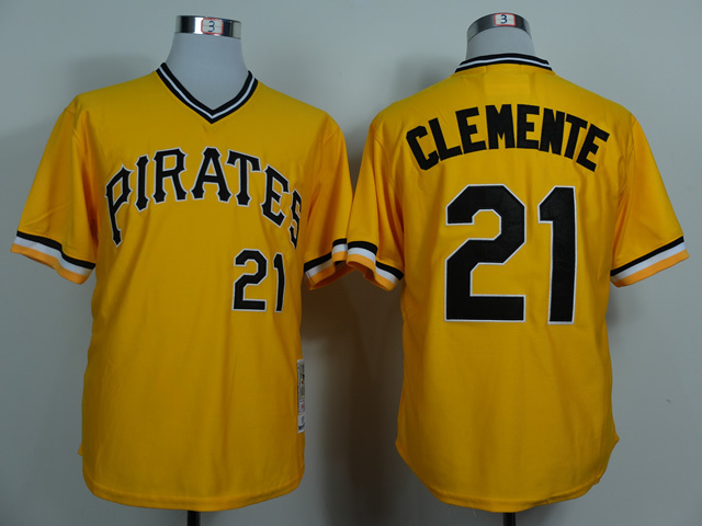 best sneakers e4da2 89170 Yellow Jersey Yellow Roberto Roberto Clemente Clemente ...