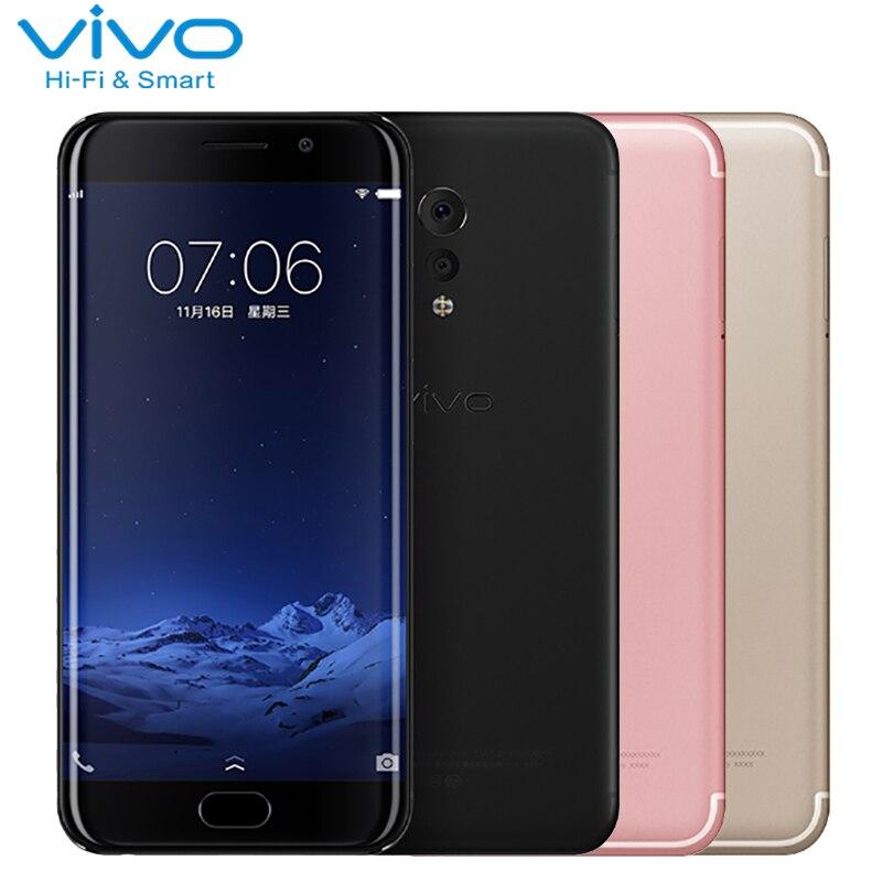 Первоначально VIVO XPLAY 6 сотовый телефон 5.46 дюймов 6 ГБ Оперативная память 128 Встроенная память Snapdragon 820 Octa core Android 6.0 Dual Камера 4080 мАч smartphoone